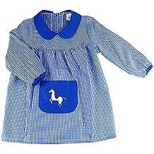 Furein Baby Infantil de Cuadros, Conjunto de Uniforme colegial para niños y niñas.