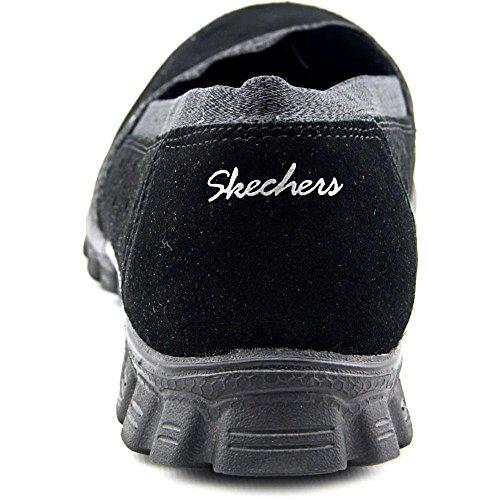 Skechers Ez Flex 2 Schmiegte Sich Trainer 22780 Schwarz Bed Of Roses/Black