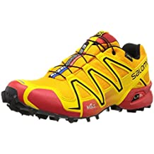 Salomon Speedcross 3 GTX Trail Laufschuhe yellow gold-radiant red-black - 46