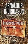 Inocencia robada par Indridason