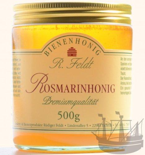Rosmarin Honig, zartes, feines Aroma, nicht so süß, 500g