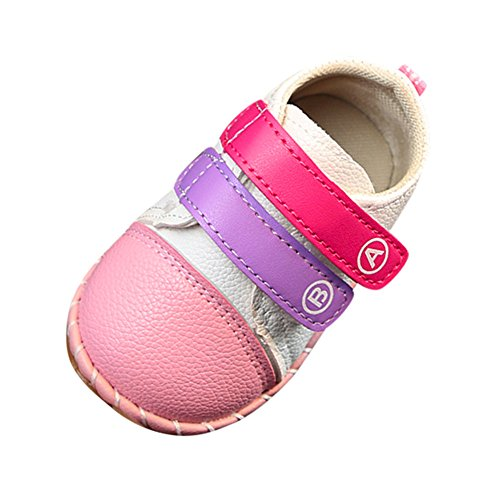 Quaan Licht Hell Atmungsaktiv beiläufig Sport Zu Rennen Kinder Gestreift Spleißen Baby Schuhe Jungen Mädchen Mesh Weich Rutschfest Party gemütlich warm sicher Hausschuhe Festival Turnschuhe (15-19)