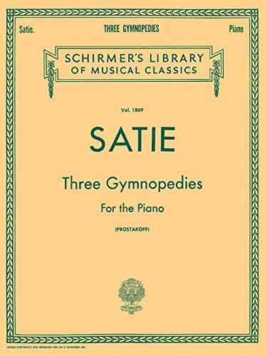 3 Gymnopedies: Piano Solo