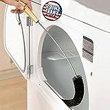 AOLVO migliorata Dryer Vent Cleaner spazzola 78,7cm lungo flessibile Dryer Lint–Kit di pulizia Air Vent Brush–bobina strumento di pulizia per frigorifero condensatore auto asciugatrice cannucce
