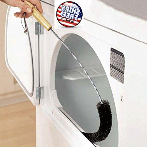 AOLVO Verbesserte Trockner Vent Cleaner Bürste, 78,7cm Lange Flexible Trockner Fusseln Reinigung Kit-Air Vent-Bürste-Coil Reinigung Werkzeug für Kühlschrank Kondensator Auto Trockner Trinkhalme
