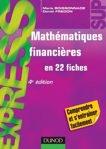 Mathmatiques financires - 4me dition - en 22 fiches