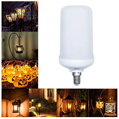 Ralbay E14 LED Flamme Light Birne, 250Lumens, 1400K~1600K wahre Feuer Farbe, Dekorative Lampe für Weihnachten, Halloween, Festival, Party, 1er-Pack