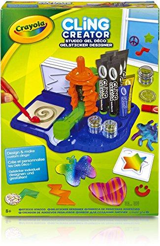 0 Gelsticker Designer, Kinder Bastelset Kreativ Set, malen und basteln ()