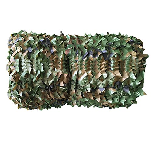 Lanyou 2 m x 3 m Oxford Stoff Camouflage Net/Camo Cover FÜR DIE Jagd Camping Hide Armee (2m x 3m)