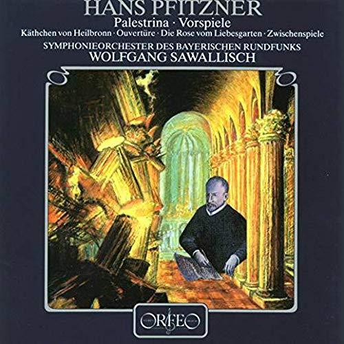 Hans Pfitzner - Symphonie-Orchester Des Bayerischen Rundfunks , Wolfgang Sawallisch - Palestrina · Vorspiele - Orfeo - S 168 881 A
