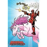 Deadpool - Póster de Unicornio (Papel, 91,5 x 61 x 0,03 cm), Multicolor
