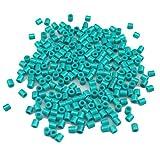 1000pcs Multicolor Plástico variadas cuentas para DIY pulseras, collares, llavero y niño joyas (Azul Verde)