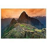 Machu Picchu papel pintado de fotografía – Suramérica ciudad en ruinas Machu Pichu cuadro mural – XXL cartel decoración de la pared by GREAT ART (140 x 100 cm