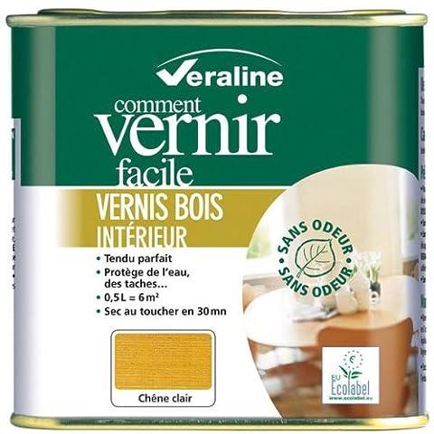 Veraline Vernis Bois Satine Chene Fonce 0L25