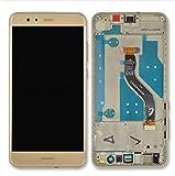 HUAWEI P10 LITE Display im Komplettset LCD Ersatz Für Touchscreen Glas Reparatur (Gold + Rahmen)