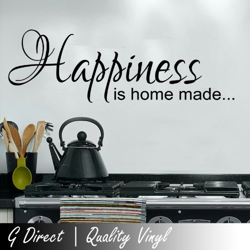 Harry Potter Happiness Can Be Found Dumbledore Inspirational decalcomania della parete del vinile Quote 100x55