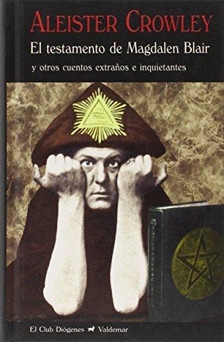 Portada del libro El testamento de Magdalen Blair (El Club Diógenes)