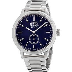 Shinola Reloj de Hombre Cuarzo Correa y Caja de Acero dial Azul 20096628