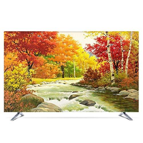 Monitor Hülle - Staubschutzhülle LCD- / LED- / HD-Display-Schutzhülle Baumwollgewebe/dreidimensionale Einfassung/Staubdichtes/Sonnenschutz/kein Ausbleichen/22-80 Zoll-27Zoll-P
