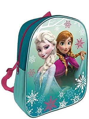 Arditex Disney Elsa y Anna - Frozen Mochila infantil, 28x 22cm, Verde de Frozen