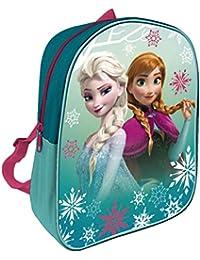 Arditex Disney Elsa y Anna - Frozen Mochila infantil, 28x 22cm, Verde