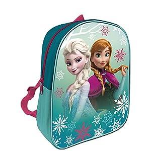 51JaWoPsfgL. SS300  - Arditex Disney Elsa y Anna - Frozen Mochila infantil, 28x 22cm, Verde
