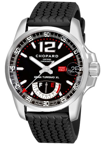 Chopard 168457 – 3001 – Watch For Men, Rubber Strap Black