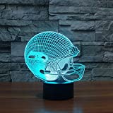 3D Led beleuchten helle Dekorationsmöbel Seattle Seahawks Team Helmet