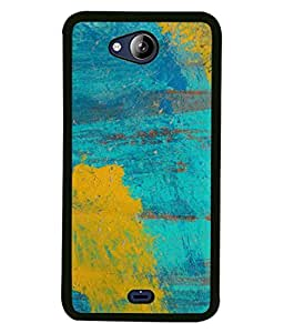 Fabcase colours splashed painted rusky grunge textured walls Designer Back Case Cover for Micromax Canvas PLAY Q355