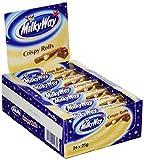 Milky Way Crispy Rolls, 24er Pack (24 x 25 g)