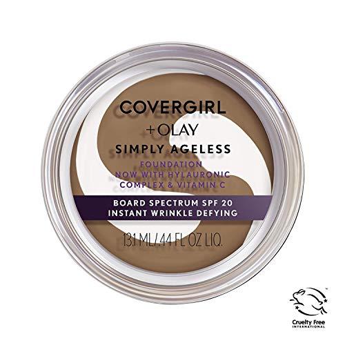COVERGIRL - Olay Simply Ageless Foundation Classic Tan - 0.4 oz. (12 g)