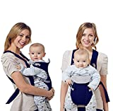 ZEEUPAI - 3 Posizioni Di Utilizzo Marsupio Porta Bebè Neonato per il trasporto...
