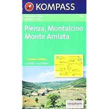 Kompass Karten, Pienza, Montalcino, Monte Amiata (Carte de Randon)