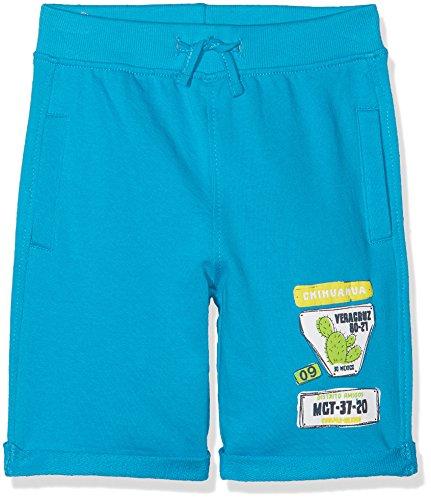 Blue Seven Jungen Hose Sweat-Bermuda, Türkis (Cyan 655), 92