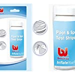 Bestway 3-in-1 Pool and Spa (Lay z Spa) Test Strips (50 strips) for Chlorine, PH and Alkalinity testing #58142
