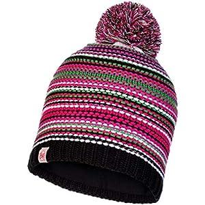 Buff Junior Knitted & Polar Hat Amity