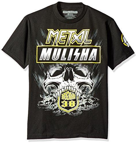 Metal Mulisha Brian Deegan T-Shirt Blast Schwarz Schwarz