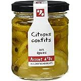 Accent d'Oc Citrons Confits aux Épices 180 g - Lot de 2