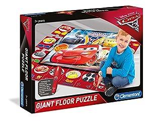 Clementoni 61749Cars 3-Puzzle Gigante de Suelo