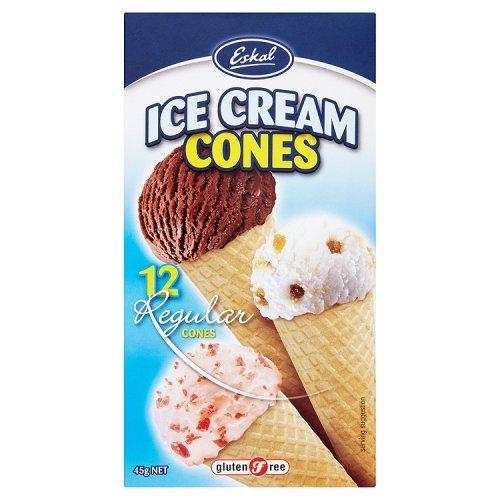 G Eskal / F Cornets de crème glacée 12 Pcs