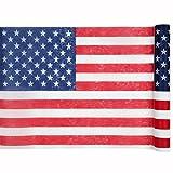 PARTY DISCOUNT Neu Tischläufer USA, 30cm x 5m