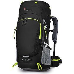 MOUNTAINTOP 50L Sac à Dos de Randonnée/Trekking/Vayage/Camping/Alpinisme