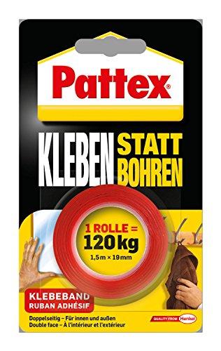 Pattex Leise - ohne Bohrlärm und lästige Bohrlöcher