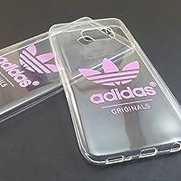 Coque pour mobile housse Adidas Original rétro transparent logo de marque rose - Samsung Galaxy A5 (2016)