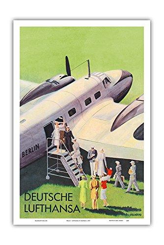 berlin-german-deutsche-lufthansa-airlines-vintage-airline-travel-poster-by-siegward-c1937-master-art
