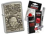 Zippo Knk Sonderedition mit Zippo Zubehör Auswahl und L.B Chrome Stabfeuerzeug
