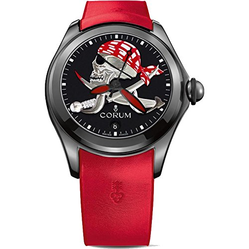CORUM Men's Bubble Halloween Pirate 47MM Automatic Watch 082.310.98/0376 PIRA