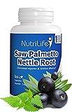 Palmier nain et Racine d'ortie (saw palmetto-nettle root)-60 gélules végétales - 2 mois