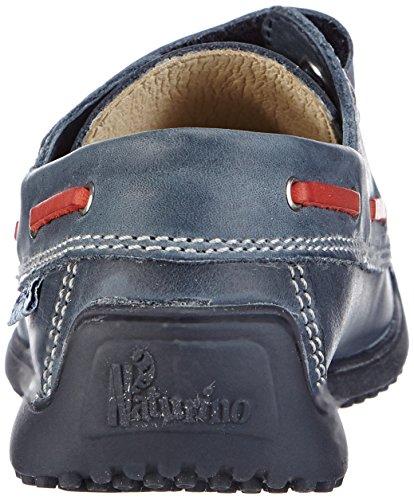 Naturino  NATURINO 4110, chaussures bateau garçon Multicolore - Mehrfarbig (NAVY-JEANS-ROSSO9107)