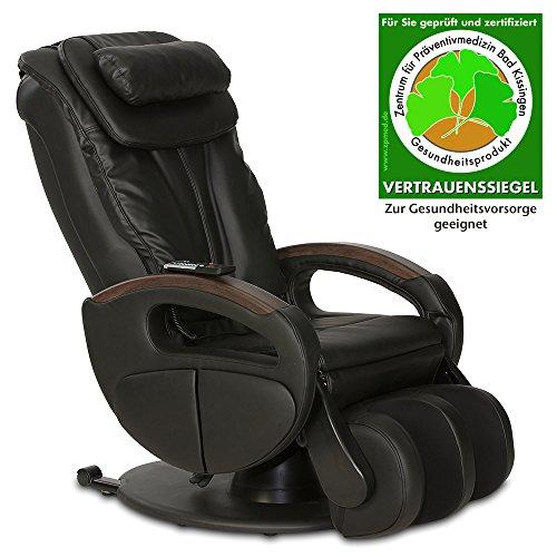 Massagesessel Komfort Deluxe mit Shiatsu-Massage - im Check